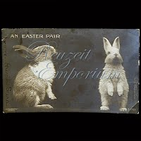 Antique Real Photograph Easter Post Card