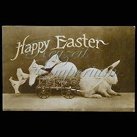 Antique Embossed Easter Post Card 1910
