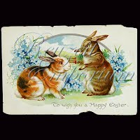 Antique Tuck Embossed Easter Post Card