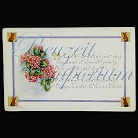 Antique Whitney Embossed Easter Post Card