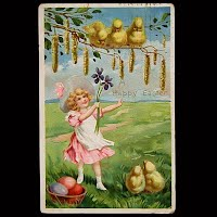 Antique Tuck and sons Easter Post Card