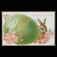 Antique Embossed Easter Post Card
