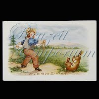 Antique Easter Whitney Post Card