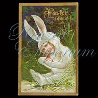 Antique Easter Post Card 1913