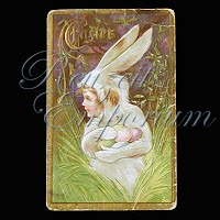 Antique Easter Post Card 1909