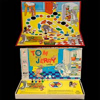 Vintage 1977 Tom and Jerry Game, Milton Bradley