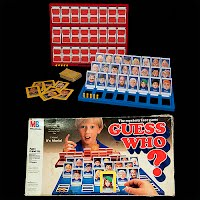 Vintage Guess Who Game, Milton Bradley, 1987