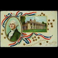 1911 Antique Postcard, George Washington's Birthday