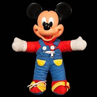 Vintage Mickey Mouse Teach Me Doll