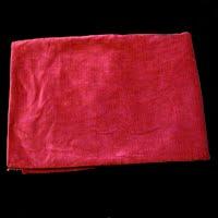 vintage Red Velvet Upholstery Fabric