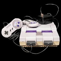 Vintage Original Super Nintendo with 2 controllers