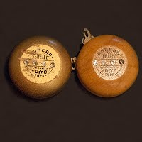Duncan Assorted Jeweled Tournament Yo-Yo, wood, rhinestones front and back