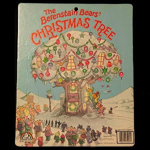 Vintage The Berenstain Bears Christmas Tree 1980 Puzzle