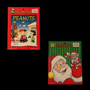 Peanuts and Snoopy Christmas and Santa Christmas Puzzles
