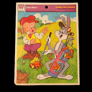 Vintage Whitman Bugs Bunny Puzzle 1976