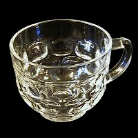 Vintage Clear Glass Punch Cup