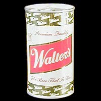Vintage Beer Can, 1976 Walters Beer