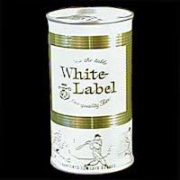 Vintage Beer Can, 1976 White Label Beer