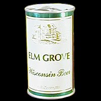 Vintage Beer Can, Green Elm Grove Beer