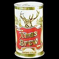 Vintage Beer Can, Schell Xmas Brew Beer