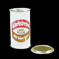 Vintage Beer Can, Karlsbrau Beer