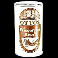 Vintage Beer Can, Otto's Wisconsin Beer
