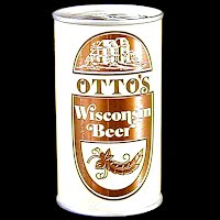 Vintage Beer Can, Otto's Wisconsin Beer