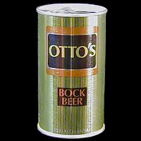 Vintage Beer Can, Otto's Beer