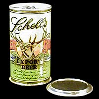 Vintage Beer Can, Schell Export II Beer