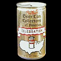 Vintage Beer Can, Beer Can collectors of America, 50 Years