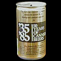 Vintage Beer Can, Beer Can Collectors of America Bank