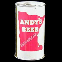 Vintage Beer Can, 1978 Red Andy's Beer
