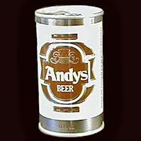 Vintage Beer Can, 1976 Brown Andy's Beer