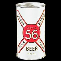 Vintage Beer Can, 1976 Red 56 Andy's Beer