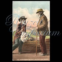 Antique Photochrome Black Americana Postcard 1909
