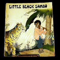Antique Book, 1932, Little Black Sambo