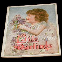 Antique Children's Book from The Golden Rule Store, Little Darlings