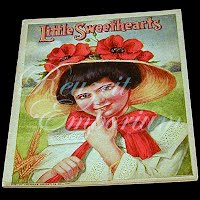 Antique Children's Book from The Golden Rule Store, Little Sweethearts