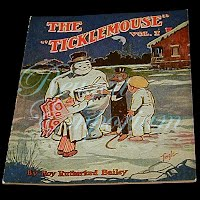 Antique Children's Book from The Golden Rule Store, Ticklemouse