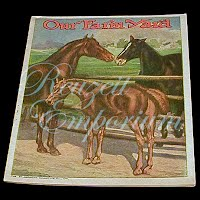Antique Children's Book from The Golden Rule Store, Our Farm Yard