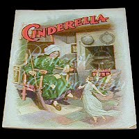 Antique Children's Book from The Golden Rule Store, Cinderella