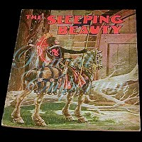 Antique Children's Book from The Golden Rule Store,Sleeping Beauty