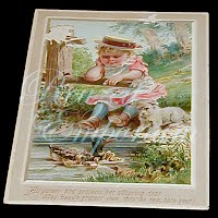 Antique Ephemera, Antique New Year's card