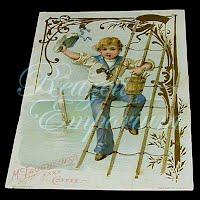 Antique Ephemera, McLaughlin coffee trade card