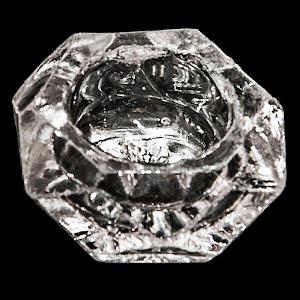 Antique Cut Glass Single Salt Dip