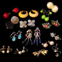 Antique and Vintage Earrings, Antique and Vintage Jewelry