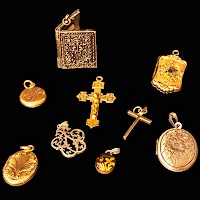Antique and Vintage Pendants, Antique and Vintage Jewelry