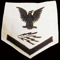 Vintage Antique USN Radioman Ratings Badge 1940-1945