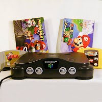 Vintage Nintendo 64, Console, Games, and accessories