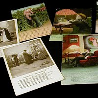 Antique, Vintage Bamforth Postcards